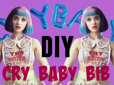 DIY Melanie Martinez outfit | Cry Baby bib | Fake it to make it #6