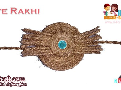 DIY: Rakhi Video Making at Home - Jute Rakhi tutorial - Raksha Bandhan