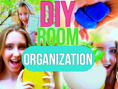 DIY Room Organization and Storage Ideas 2016!