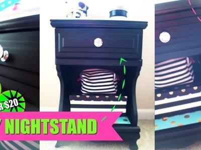 DIY Shabby Chic Make-up Night Stand
