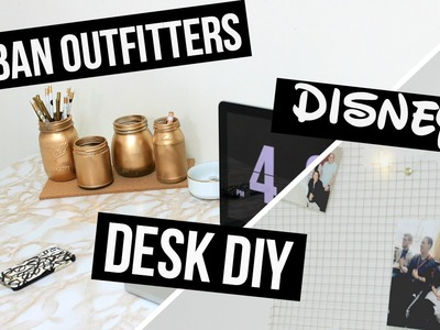 DIY Urban Outfitters.Disney Desk Decor
