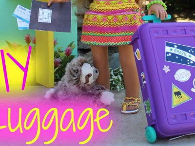 Doll Luggage Craft | DIY American Girl Doll