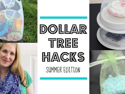 DOLLAR TREE HACKS! |  Summer Edition