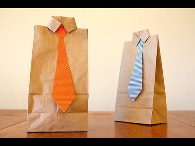 Easy Fathers Day Gift Bag!