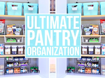 EASY Pantry Organization! How to Organize Your Pantry