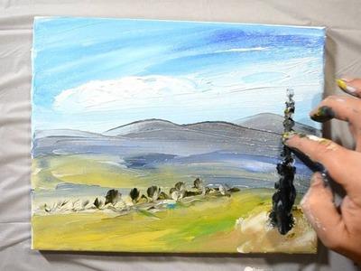 Finger Painting - Speed Art