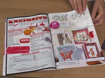 Free magazine and gift from Craft Stash