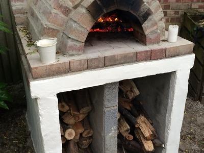Homemade Easy Outdoor Pizza Oven DIY