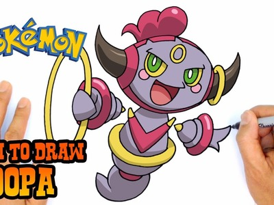 How to Draw Hoopa (Pokemon)- Kids Art Lesson