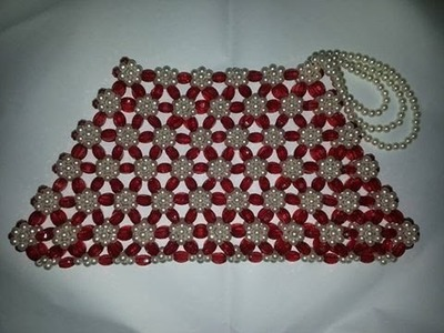How to Make a Purse Use of Bead-DIY Bead Craft Ideas-Handmade Beautiful Beaded Purse