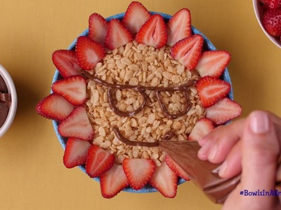 How To Make A Rice Krispies® Nutella® Sunshine Bowl
