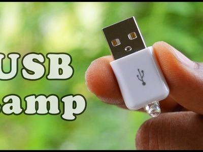 How to make a USB Led Light , DIY Mini LED Night Lamp