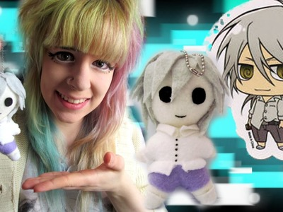 MINI PSYCHO PASS- Tutorial- Shogo Makishima plush keyring- With clothing pattern- Cloctor Creations