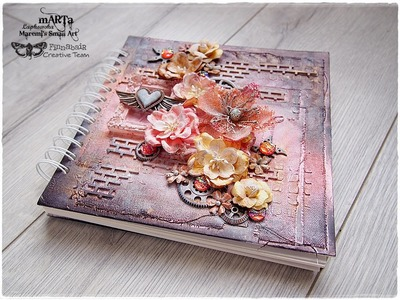 Mixed Media Altered Journal Cover Tutorial