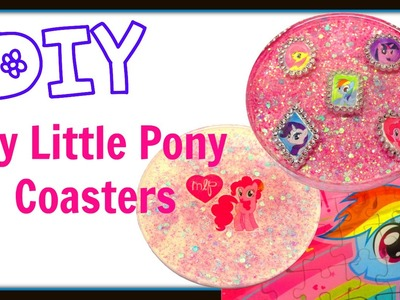 My Little Pony Coasters Pinkie Pie ~ Another Coaster Friday ~ Craft Klatch ~ How To