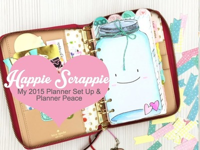 My Planner Set Up & Planner Peace for 2015