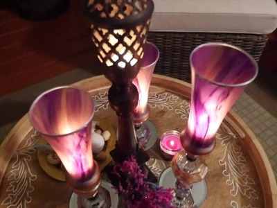 Outdoor Living Spaces 2016 | Painted Candle Vaults and Other Accent Pieces