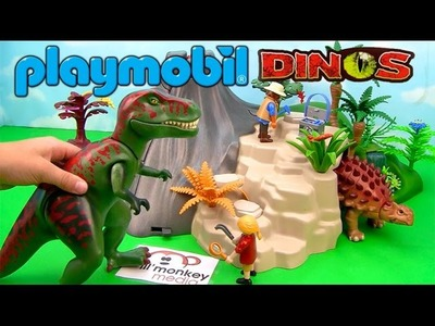 Playmobil Dinos! Exploding Volcano, T-Rex, Baby Dino and More!