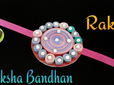 "Quilling Tutorial to make ""Rakhi Bracelet for Raksha Bandhan"" 