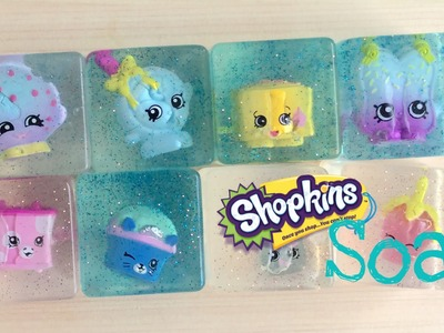 Shopkins Season five diy soap tutorial  Review and Unboxing