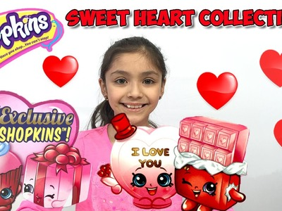 Shopkins Valentine's Day Limited Editions and Series 4 Blind Baskets