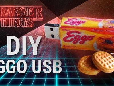 ''STRANGER THINGS'' DIY Polymer Clay EGGO USB - Back to School Craft