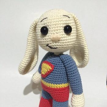 Super Hero Bunny Amigurumi PDF Pattern - Beginner