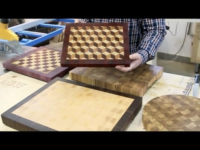 The basics of making end grain cutting boards. Part 1.