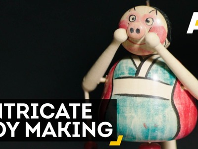 The Craft Of Japanese Toy Making