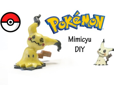 Tutorial: DIY Mini Mimikyu Pokemon GO - FIMO, Polymer Clay,  Craft