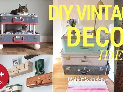 28+ Easy to Make DIY Vintage Decor Ideas