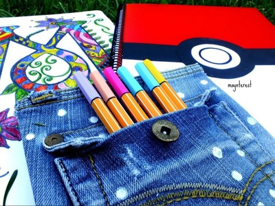 3 DIY DECORATE YOUR NOTEBOOKS - Back to school supplies