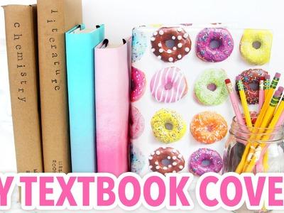 3 DIY Textbook Covers - Back to School 2016 - HGTV Handmade
