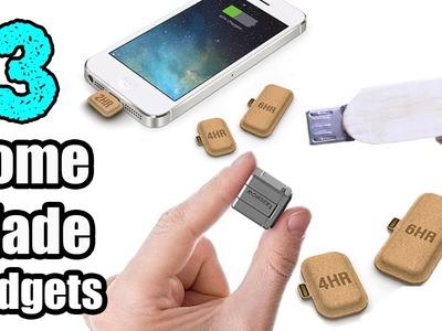 3 Incredible HomeMade Gadgets for your Smartphones. DIY Smartphone Gadget