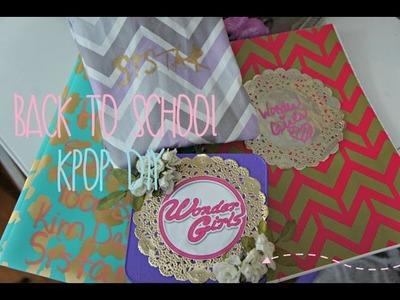 Back To School KPOP DIY