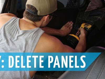 CHEAP DIY! $20 Interior Delete Panels