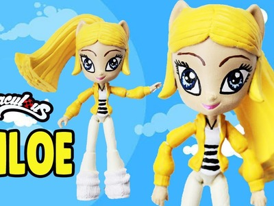 CHLOE Miraculous Ladybug and Cat Noir My Little Pony Custom Doll DIY from Equestria Girls Minis