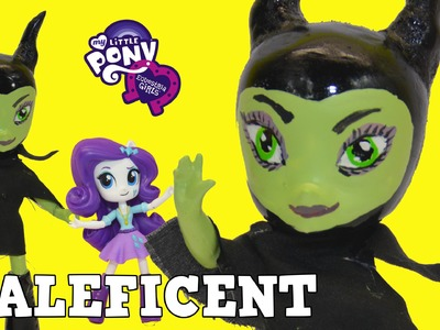 Custom MALEFICENT My Little Pony Equestria Girls Mini DIY Tutorial