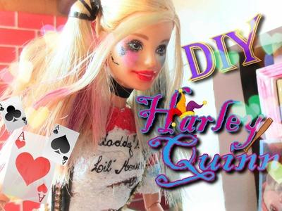 DIY Barbie Harley Quinn