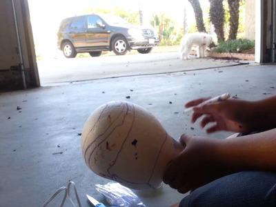 DIY deadshot mask for under 10 dollars!! Part 1.2