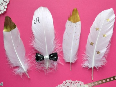 Diy Decorated Feather Embellishments- Build Your Stash #13