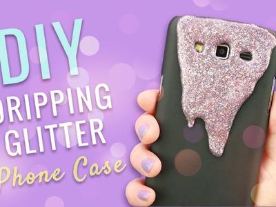 DIY Dripping Glitter Phone Case!