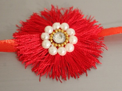 DIY Easy Silk Thread Rakhi for Raksha Bandhan