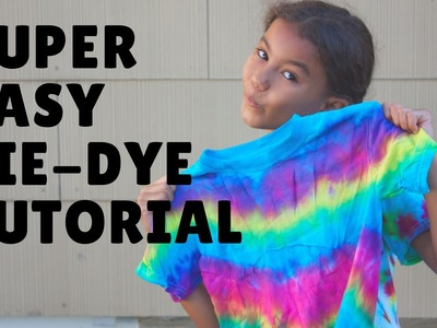 DIY: Easy Tie Dye Shirt Tutorial