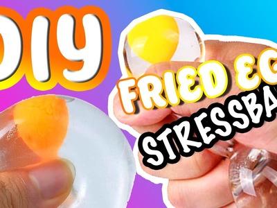 DIY Fried Egg Stressball