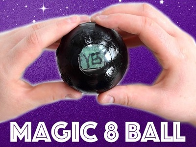 DIY it! - Magic 8 Ball. How to make a DIY liquid magic 8 ball fortune teller. Liquid DIY collab