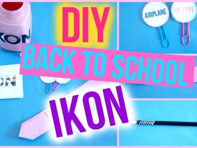 DIY KPOP. IKON BACK TO SCHOOL COLLAB - School Supplies   KpopStyled