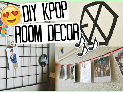 DIY KPOP Room Decor | EXO, BTS, & More | Life With Maaya