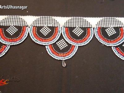 DIY Kundan Toran. bandanwaars from waste DVD |  How to make | JK Arts 1014
