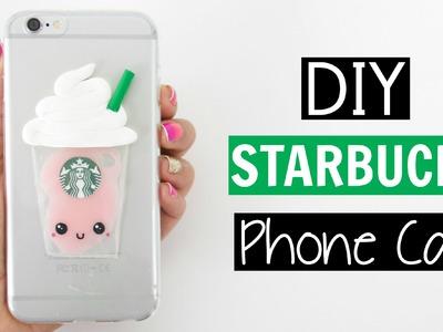 DIY LIQUID STARBUCKS PHONE CASE!